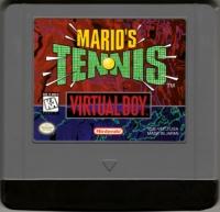 Mario's Tennis Box Art