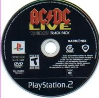 AC/DC LIVE: Rock Band Track Pack Box Art