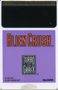 Alien Crush Box Art