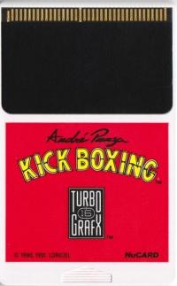 André Panza Kick Boxing Box Art