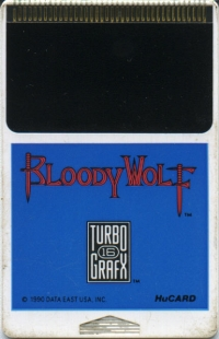 Bloody Wolf Box Art