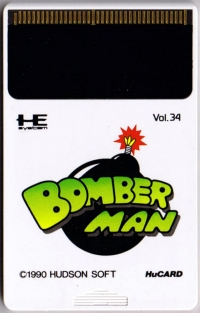 Bomberman Box Art
