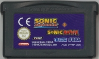 2 Games in 1: Sonic Advance + Sonic Battle [FI][SE][IT] Box Art
