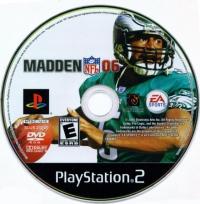 Madden NFL 06 Box Art