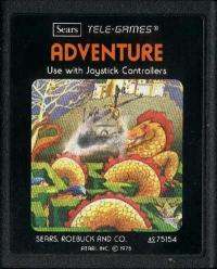 Adventure (Sears Picture Label) Box Art
