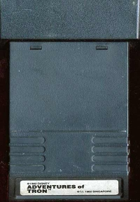 Adventures of Tron (white label) Box Art
