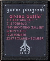 Air-Sea Battle (Text # Label) Box Art