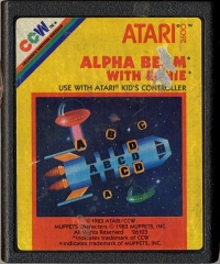 Alpha Beam with Ernie Box Art
