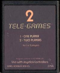 Arcade Golf (Sears Text Label) Box Art