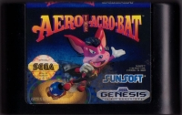 Aero the Acro-Bat Box Art