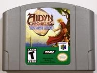 Aidyn Chronicles: The First Mage (gray cartridge) Box Art