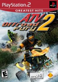 ATV Offroad Fury 2 - Greatest Hits Box Art