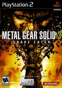 Metal Gear Solid 3: Snake Eater Box Art