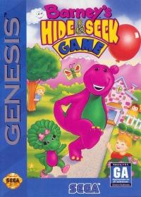 Barney's Hide & Seek Game Box Art