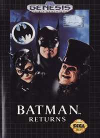Batman Returns (670-2329 cart) Box Art