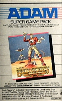 Buck Rogers: Planet of Zoom (Super Game Pack) Box Art