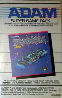 Zaxxon (Super Game Pack) Box Art