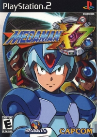 Mega Man X7 Box Art