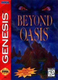 Beyond Oasis Box Art