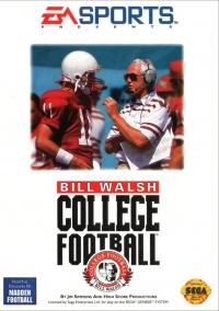 Bill Walsh College Football Box Art