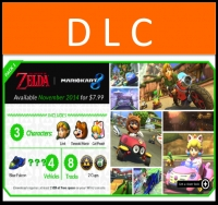 Mario Kart 8 DLC Pack 1: The Legend of Zelda x MK8 Box Art