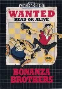 Bonanza Brothers Box Art