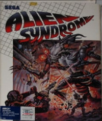 Alien Syndrome (Mindscape) Box Art