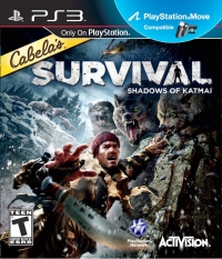 Cabela's Survival: Shadows of Katmai Box Art