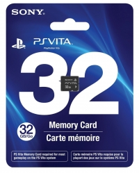 Sony Memory Card (32 GB) Box Art
