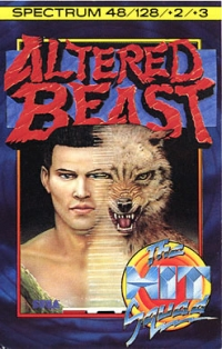 Altered Beast - The Hit Squad Box Art