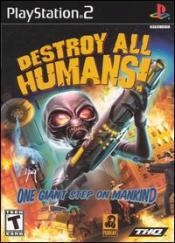 Destroy All Humans! Box Art