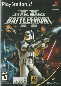 Star Wars: Battlefront II Box Art