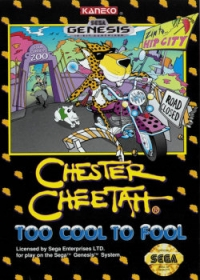 Chester Cheetah: Too Cool to Fool Box Art