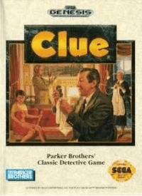 Clue Box Art