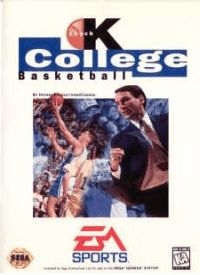 Coach K College Basketball Box Art