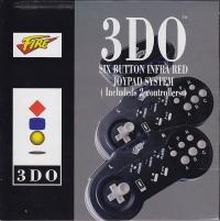 Fire 3DO Six Button Infra Red Joypad System Box Art