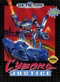 Cyborg Justice Box Art
