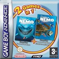 2 Games in 1: Disney/Pixar Le monde de Nemo + Disney/Pixar Le monde de Nemo: L'aventure continue! Box Art