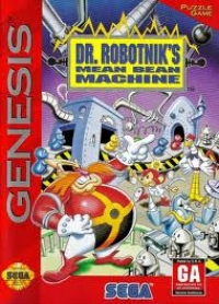 Dr. Robotnik's Mean Bean Machine Box Art