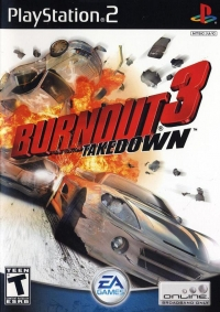 Burnout 3: Takedown Box Art