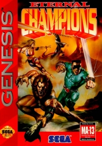 Eternal Champions Box Art
