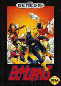 Ex-Mutants Box Art