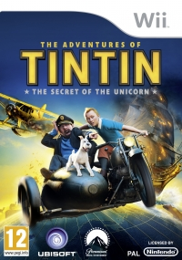 Adventures of Tintin, The - The Secret of the Unicorn Box Art