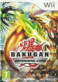 Bakugan: Defenders of the Core [UK] Box Art