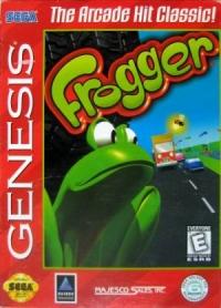 Frogger Box Art