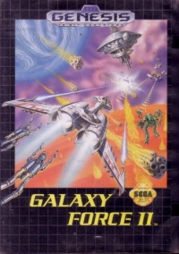 Galaxy Force II Box Art