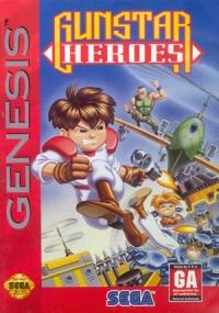 Gunstar Heroes Box Art