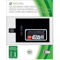 320GB Media Hard Drive for Xbox 360 Box Art