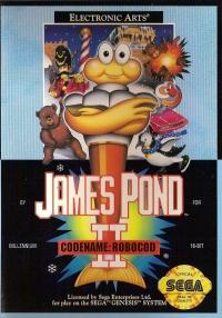 James Pond II: Codename Robocod Box Art