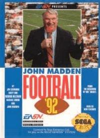 John Madden Football '92 Box Art